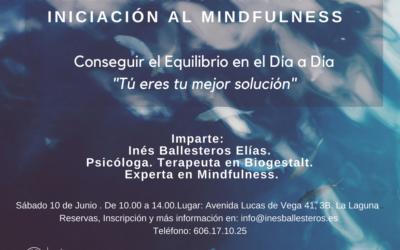 Taller: Iniciación al Mindfulness.